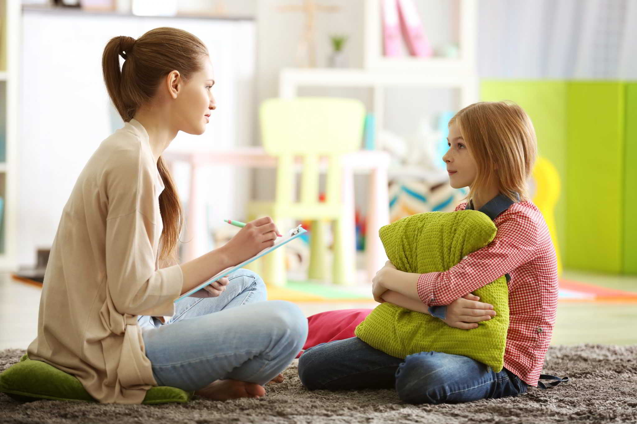 Психолог и ребенок картинка